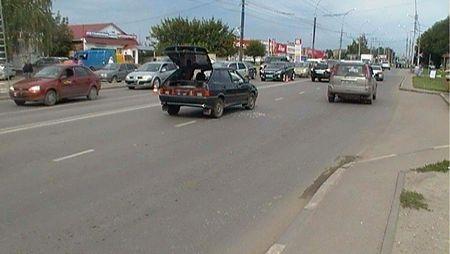 Тамбовчанин попал под колеса авто в районе пешеходного перехода