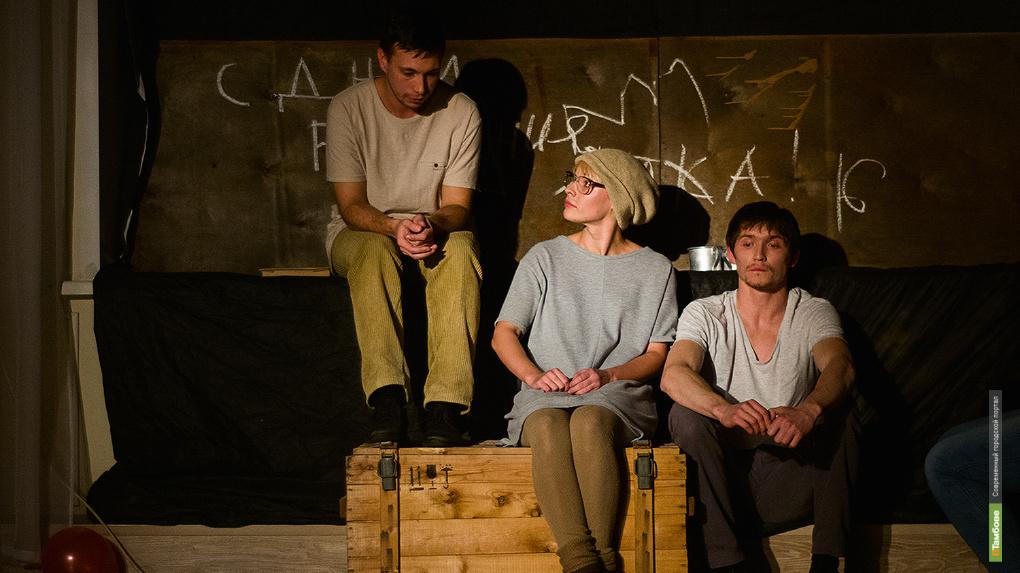 Кирилл Заборихин в спектакле «Мой Марат» создал для зрителей эффект присутствия