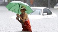 В Китае 120 тысяч человек пострадали от ливней