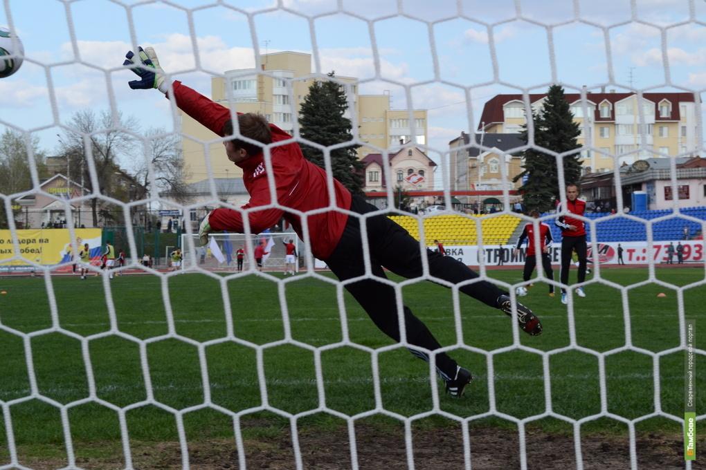 Тамбовских футболистов «умыли» в Саратове