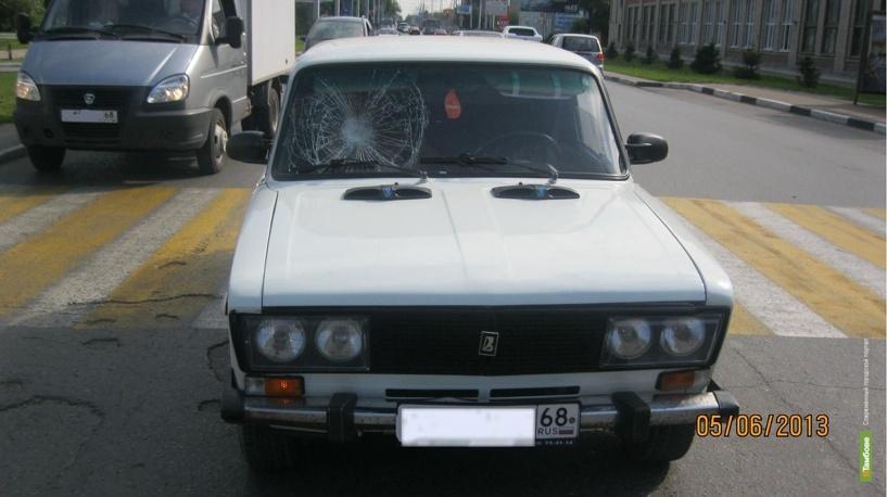 Тамбовский пенсионер попал под колеса «шестерки»