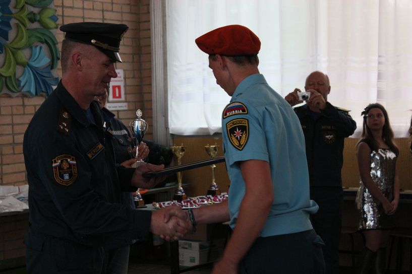 В состязаниях юных спасателей тамбовчане не попали в тройку лидеров