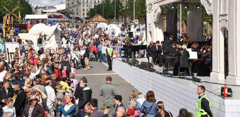 Первый день празднования юбилея столицы посетило более 6 миллионов человек