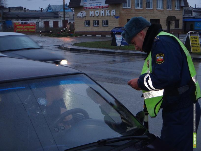 За одно утро тамбовские автоинспекторы поймали 4 нарушителей