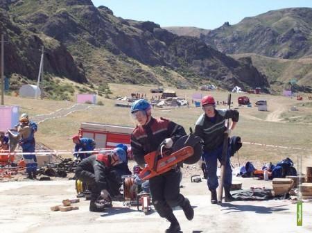 Тамбовских спасателей признали лучшими в стране