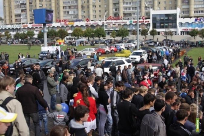 В Тамбове прошёл «АВТОФЕСТИВАЛЬ ГЛОБУС-2012»