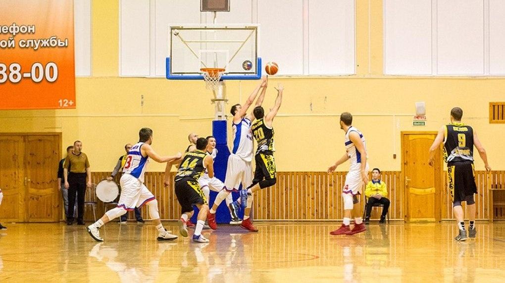 Вторая игра с курской командой «Русич» осталась за БК «Тамбов»