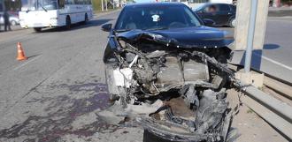 Под Тамбовом столкнулись Lada Priora и Toyota Camry