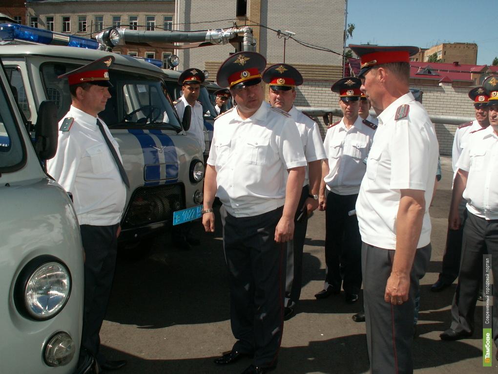 Автопарк тамбовского УМВД пополнился новыми машинами