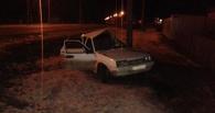В Уварово пьяный водитель врезался в столб