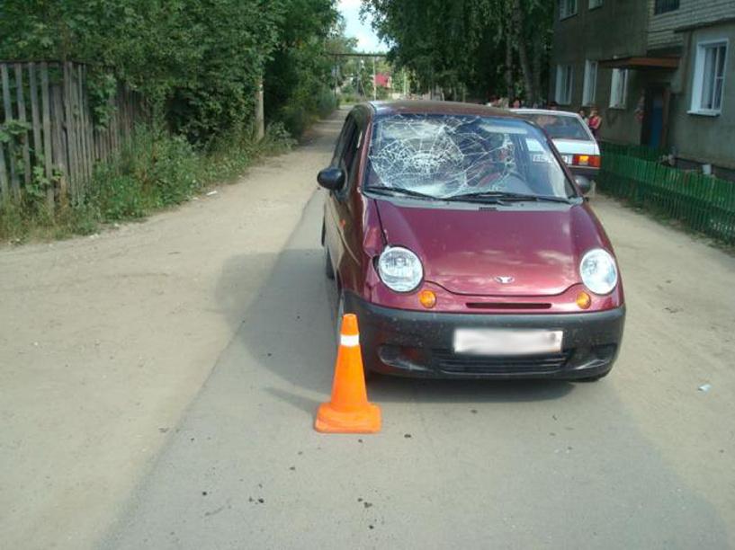 В Моршанске 8-летний мальчик попал под колеса авто