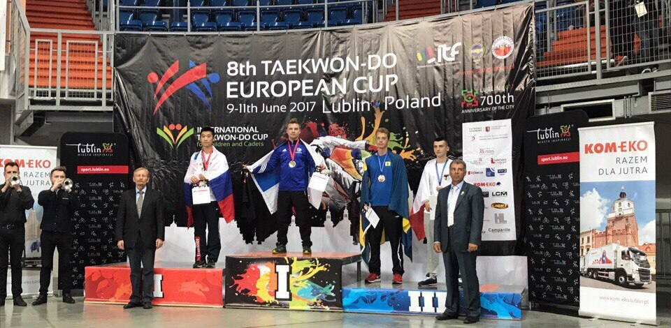 Тамбовчане привезли награды с Кубка Европы по тхэквондо