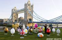 В Лондоне открылась охота на яйца