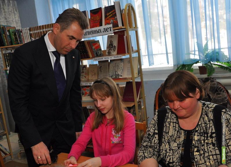 Павел Астахов ведет из Тамбова он-лайн репортаж