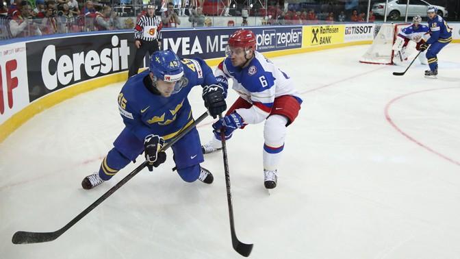 Россия вышла в финал чемпионата мира по хоккею