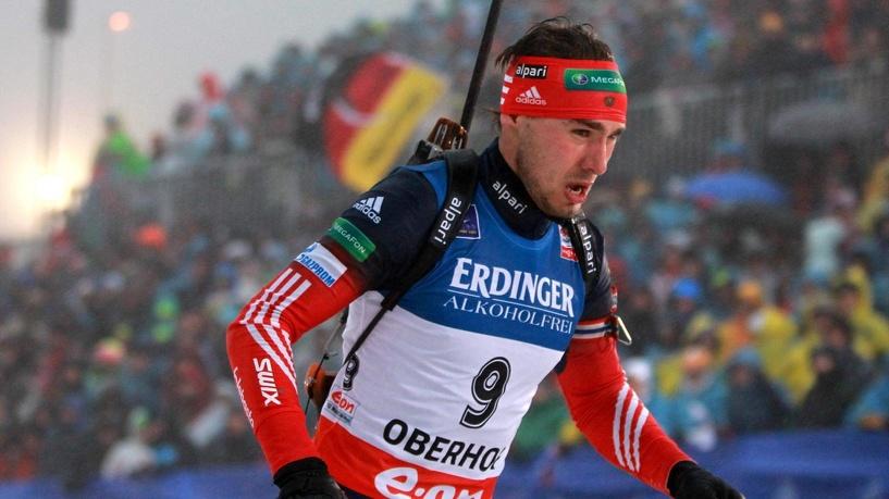 Биатлонист Антон Шипулин обогнал Бьорндалена и принес России победу в эстафете