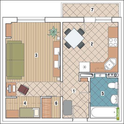 Застройщики отдают предпочтение однокомнатным квартирам