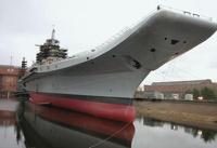Авианосец «Адмирал Горшков» застрял в Баренцевом море