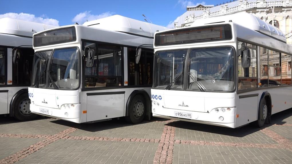 Тамбов возьмет в лизинг 6 автобусов на газомоторном топливе. Их отправят на север Тамбова