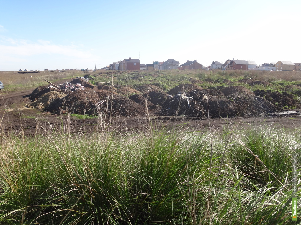 На Тамбовщине Татарский вал обрастает мусором