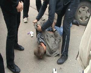 Тамбовские полицейские задержали наркокурьера