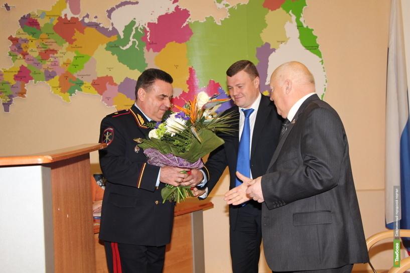 Нового начальника тамбовского УМВД представили депутатам