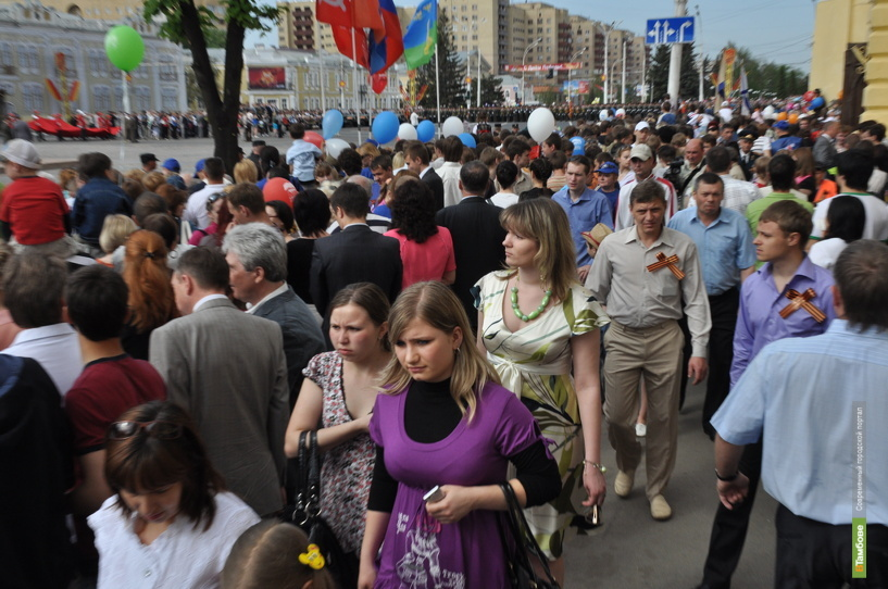 Тамбовчан на день Победы ждет отличная погода