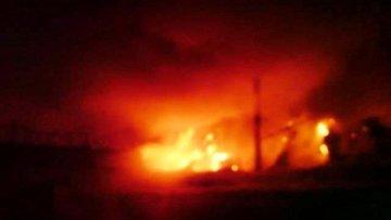 В Тамбове горела крыша в производственном здании ИК №1