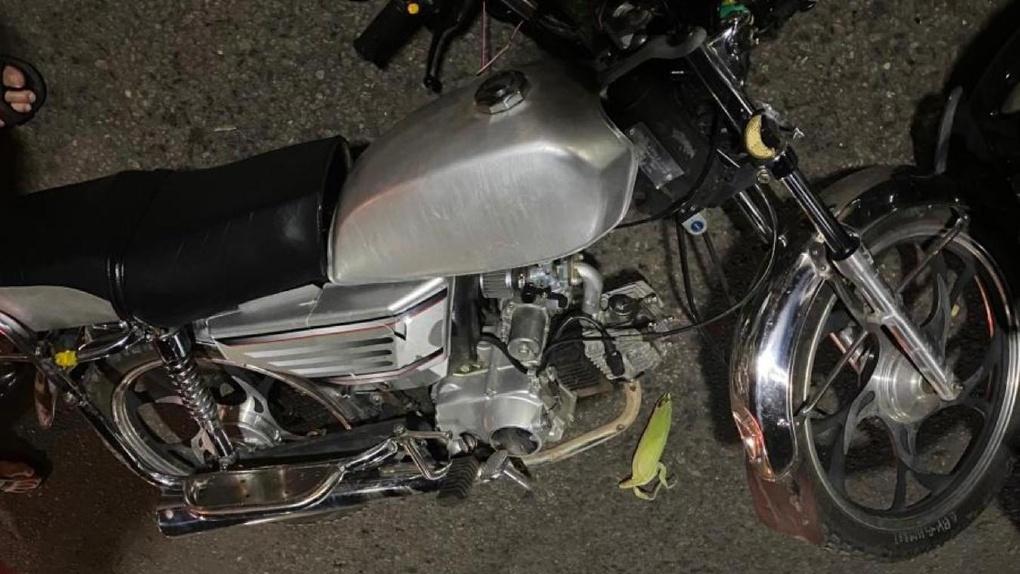На западе Тамбова Hyundai сбил подростка на мопеде