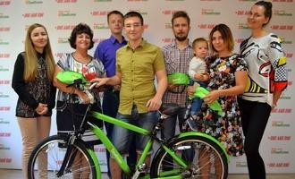 Из редакции портала ВТамбове на новом велосипеде уехал победитель фотоконкурса