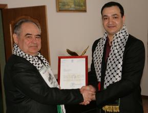 Палестинцы сказали «Спасибо» ректору Тамбовского технического университета