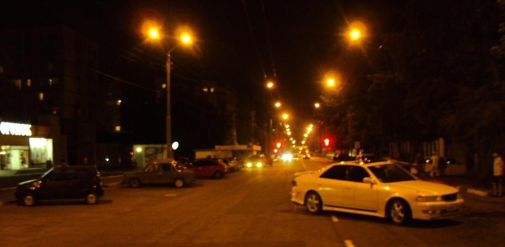 В результате аварии в центре города пострадали четыре человека
