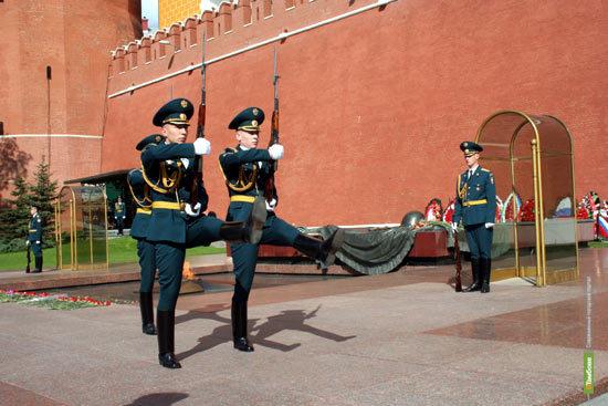 Тамбовчане будут нести службу в Кремле