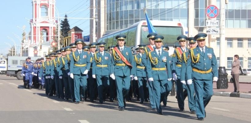 Центр города перекроют из-за репетиции Парада Победы