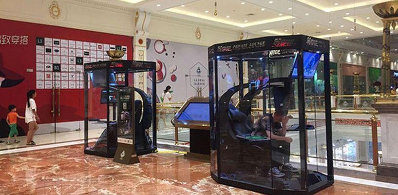 В торговом центре Шанхая открыли «камеры хранения», где можно оставить мужа