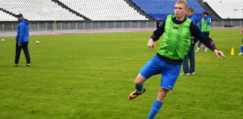 Футболист «молодёжки» будет играть за основной состав ФК «Тамбов»