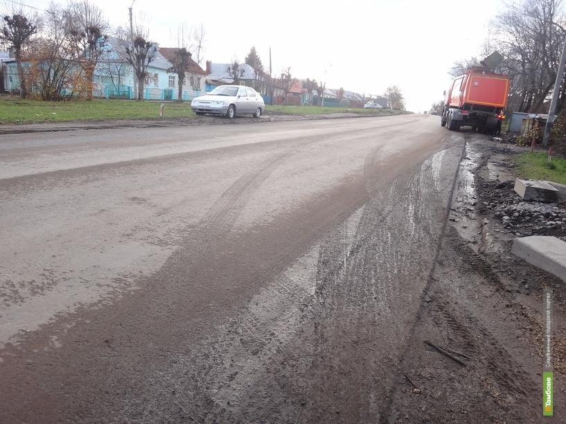 В Тамбове автобус №17 вышел на старый маршрут