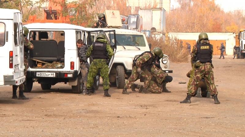 Тамбовские полицейские поймали условных грабителей