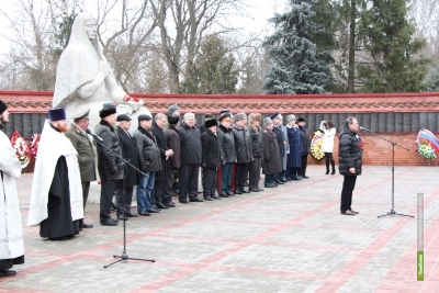 В Тамбове почтили память защитников Отечества