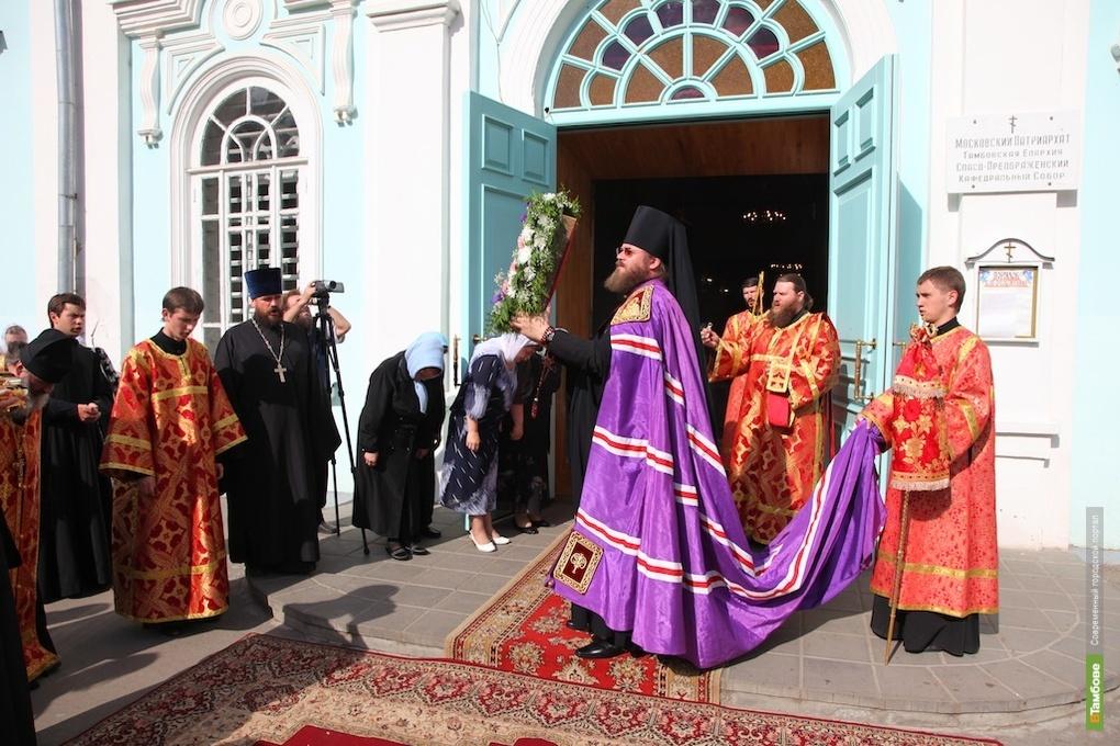 ВТамбов привезли Вышенскую икону Божией Матери