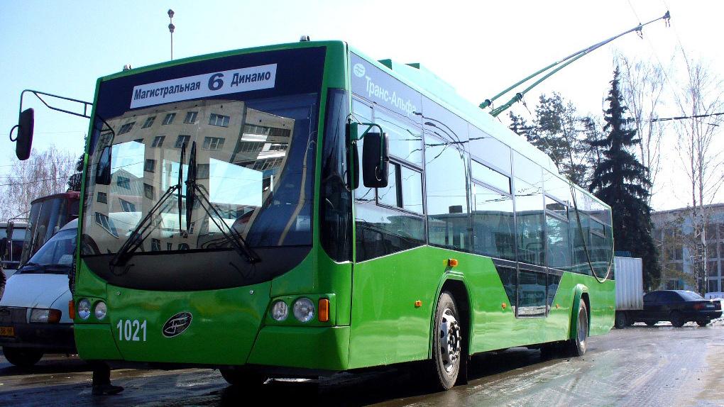 В первый день года общественный транспорт в Тамбове работает по графику выходного дня