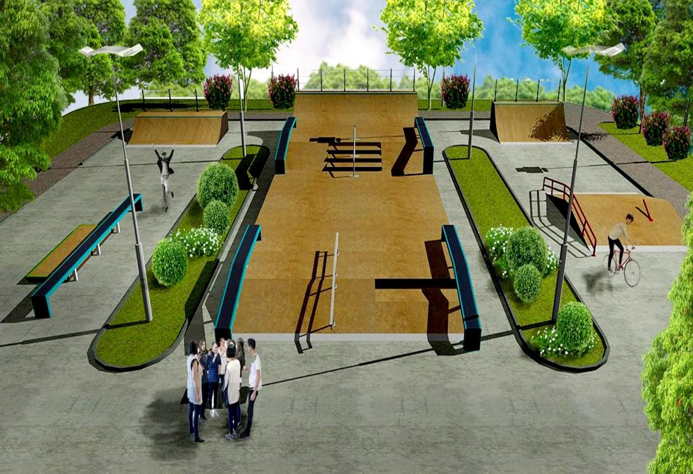 Скверы парки дизайн картинки