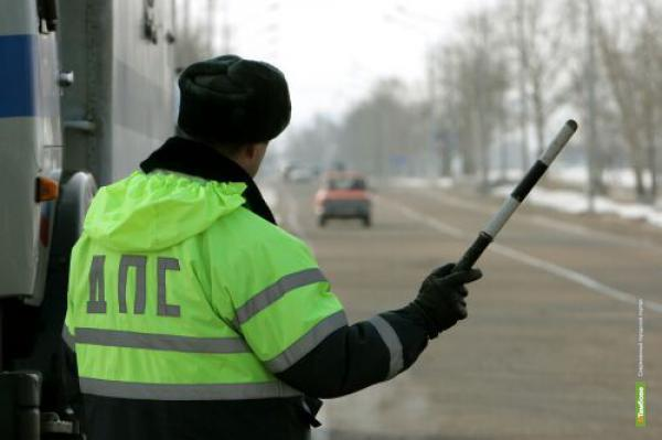 Тамбовчанка подозревается в избиении инспектора ДПС