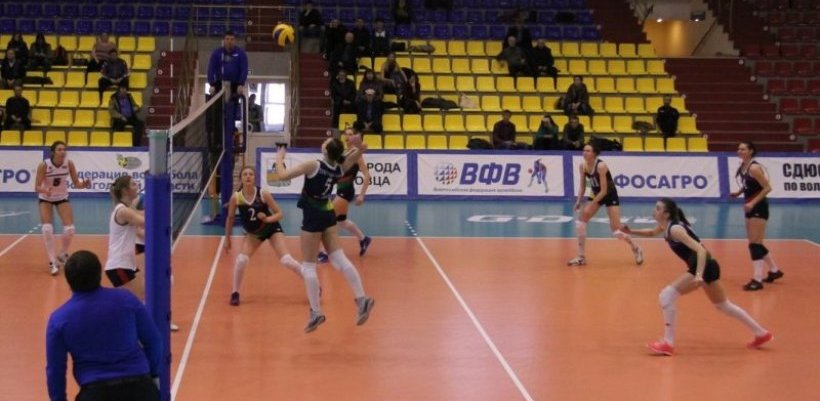ВК «Тамбовчанка одержал победу в заключительном матче тура