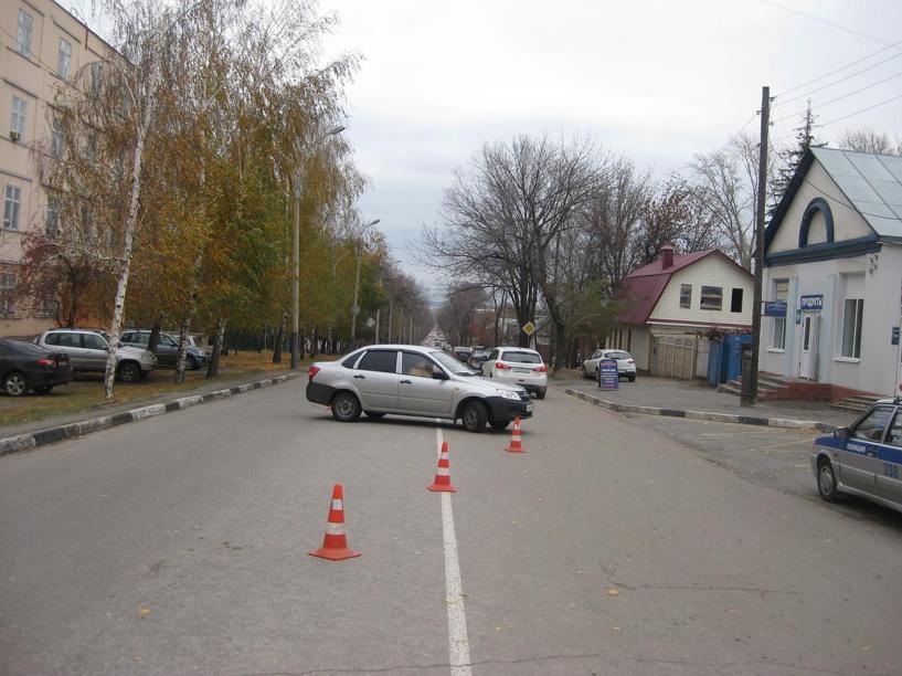 В Тамбове 13-летнюю девочку сбила машина