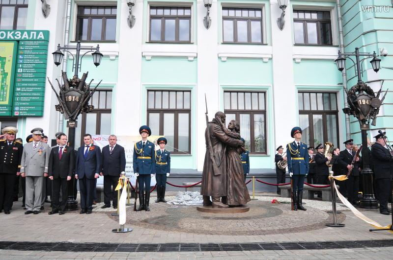 В Москве появился памятник маршу «Прощание славянки»