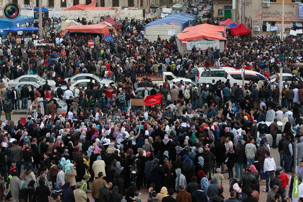 Ливийские повстанцы переименовали главную площадь Триполи