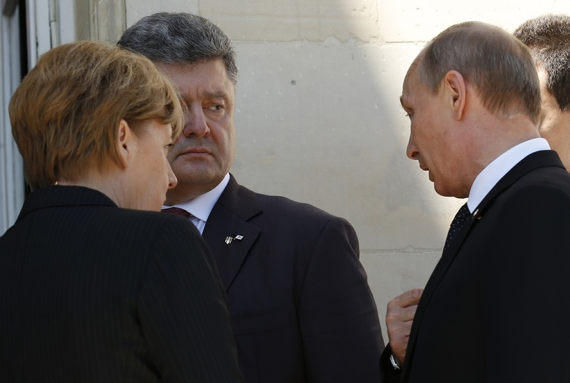 Президенты Украины и России встретились в Милане. Путин остался доволен