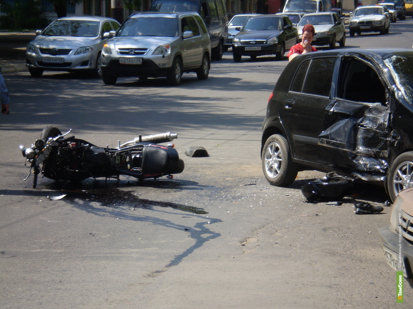 На Тамбовщине за выходные произошли шесть крупных автоаварий