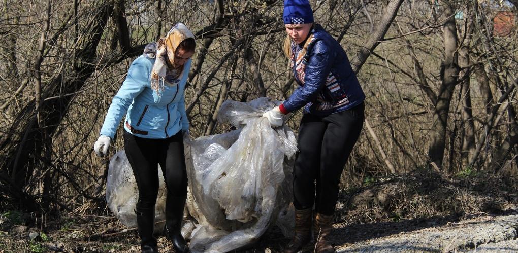 Около ста мешков мусора тамбовчане собрали в Ласковском карьере
